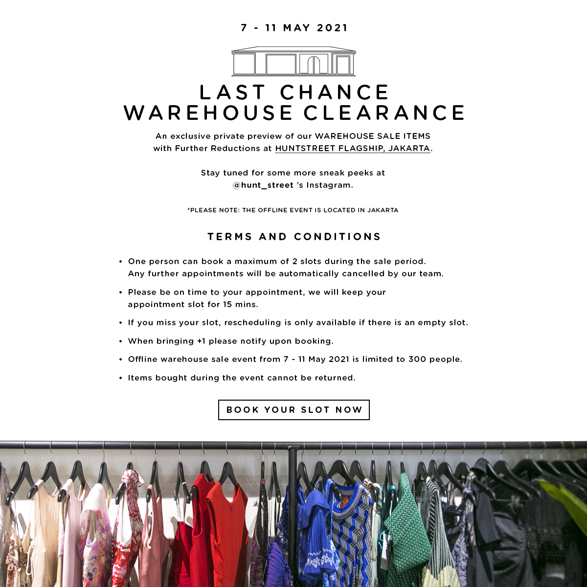 Last Chance Warehouse Clearance