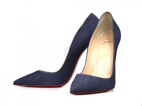 timeless design 4de34 da86d Sell Christian Louboutin So Kate Denim Pointed Pumps - Blue ...