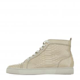 finest selection 7ef3a 46233 Sell Christian Louboutin Men's Louis Flat Python Sneakers ...